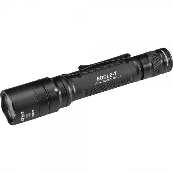 Surefire EDCL2-T Dual-Output LED Everyday Carry Flashlight