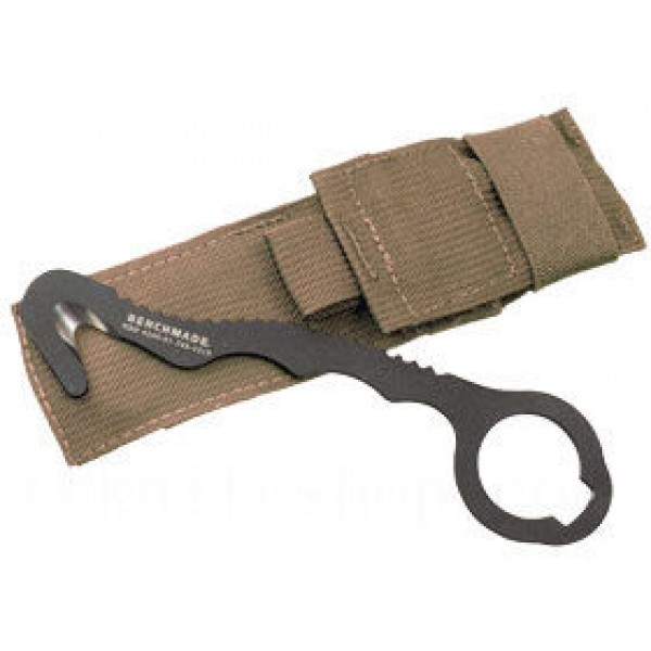 Benchmade 8 Rescue Hook Strap Cutter, Soft Coyote Sheath - 8 BLKWSN on Sale